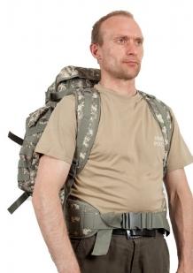 Рюкзак с чехлом для ружья камуфляж ACU