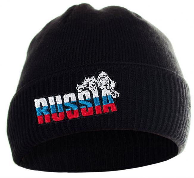 Шапка «Russia»