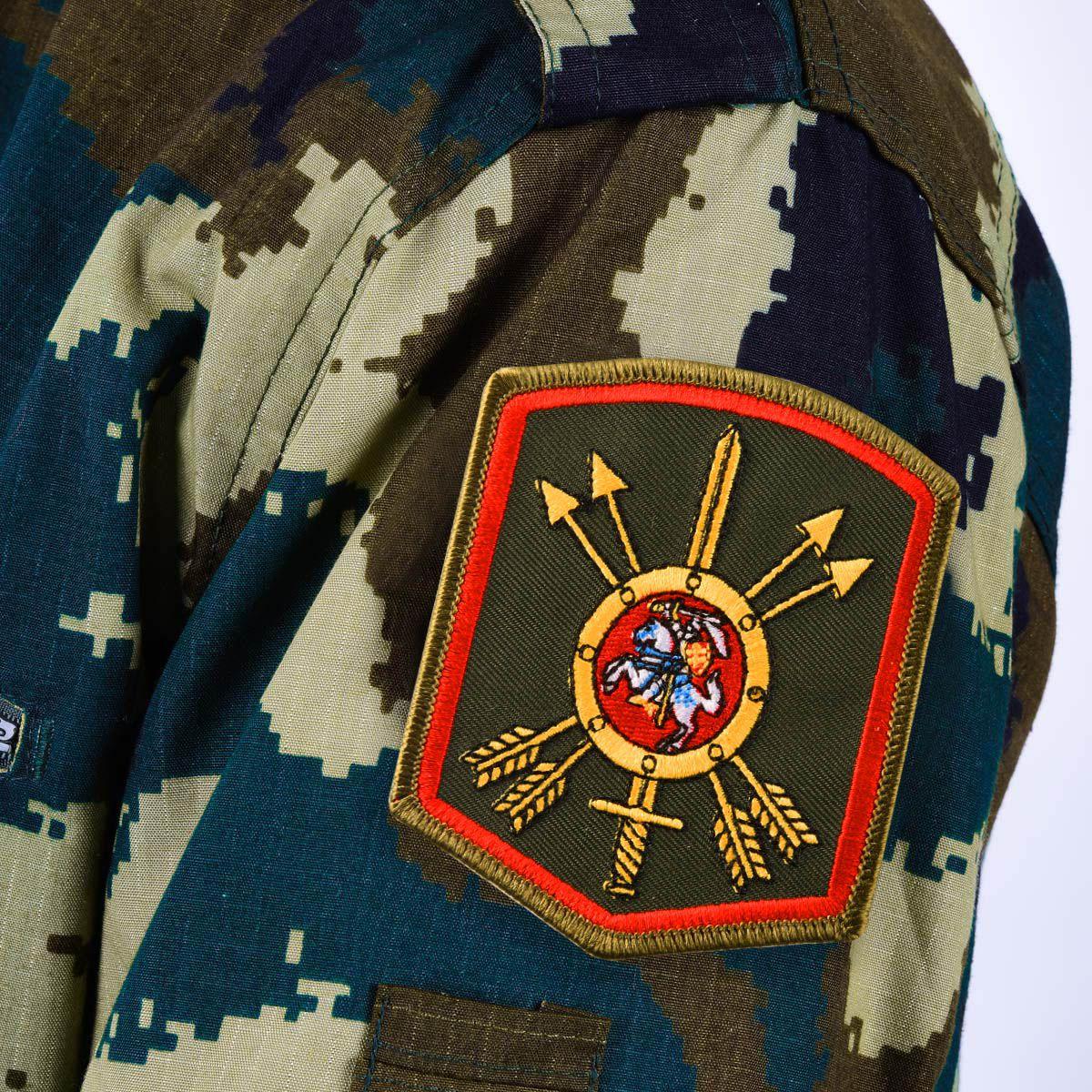 Шеврон 27-ой ракетной дивизии РВСН