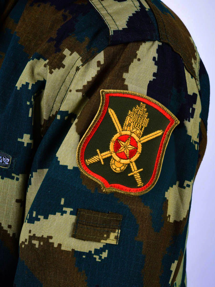 Шеврон 60-ой ракетной дивизии РВСН