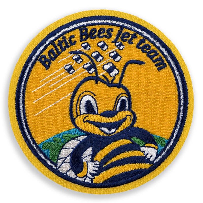 """Выгодно купить шевроны """"Baltic Bees"""""""