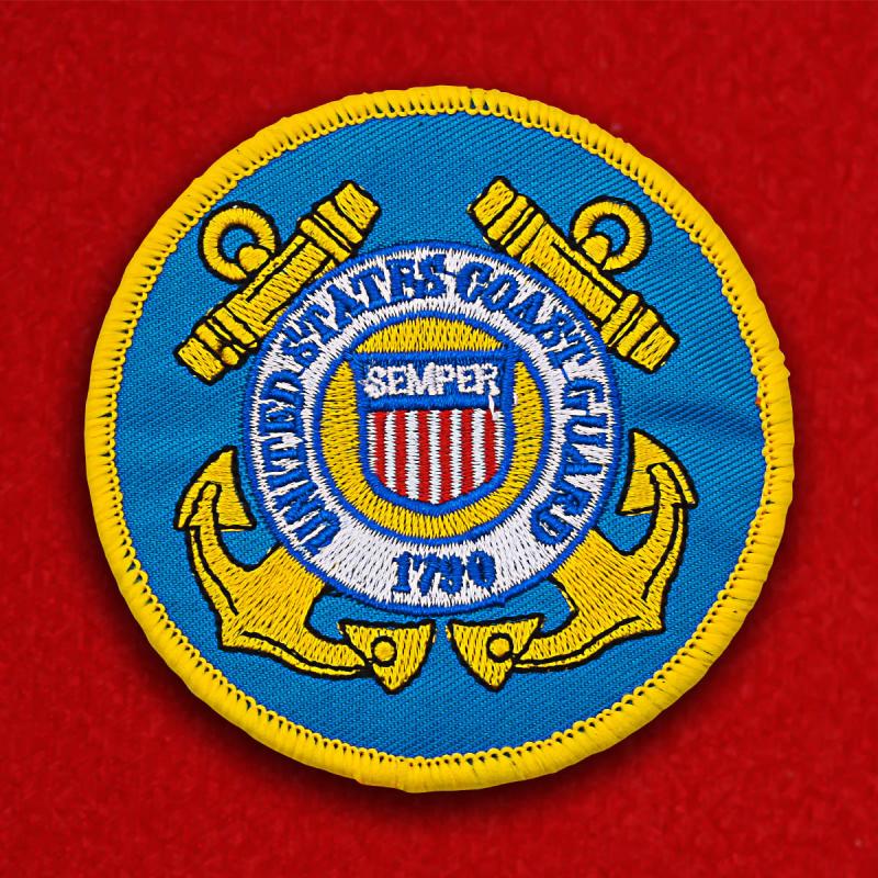 Заказать шевроны Береговой охраны США
