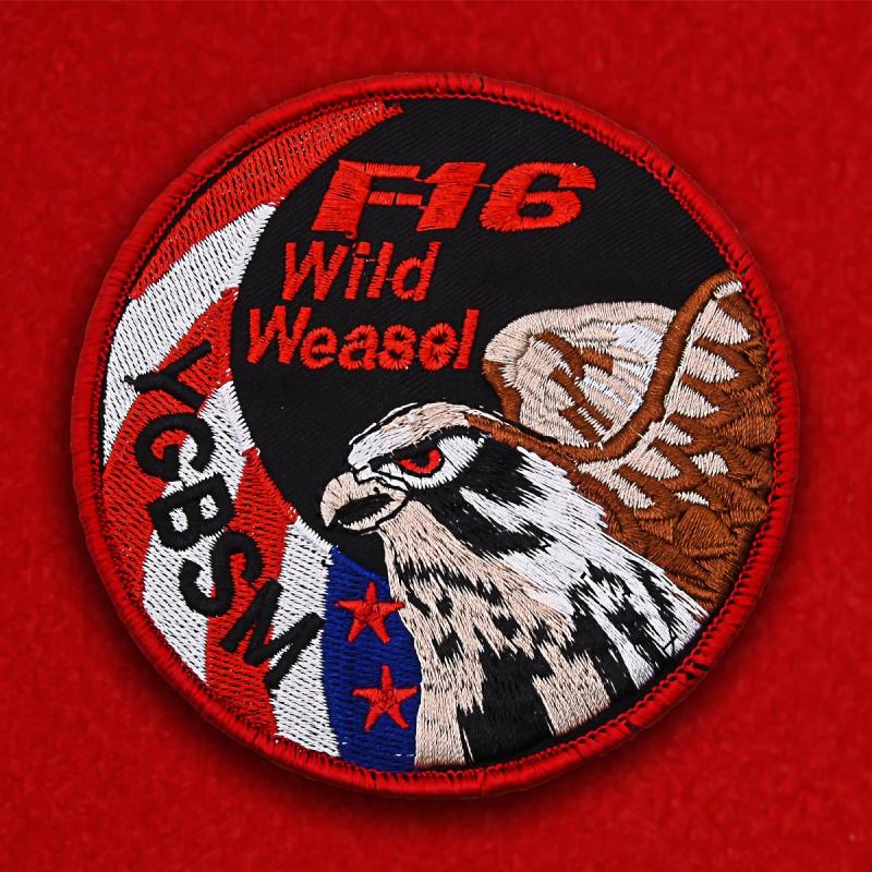 Шеврон лётчика F-16 США вышитый по новой технологии