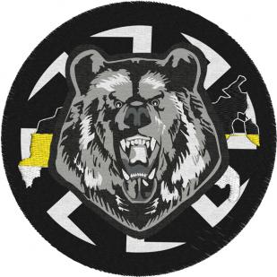 Шеврон Медведь Коловрат