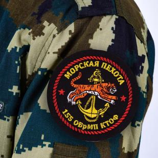 Шеврон морпеха «155 ОБрМП»