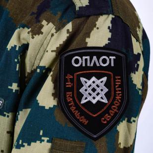 """Шеврон подразделения Оплота """"4-й батальон Сварожичи"""""""