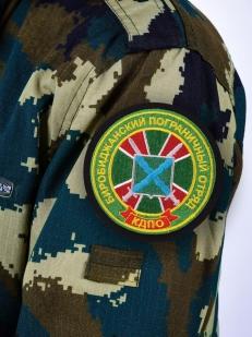Шеврон пограничника Биробиджанского погранотряда - на рукаве