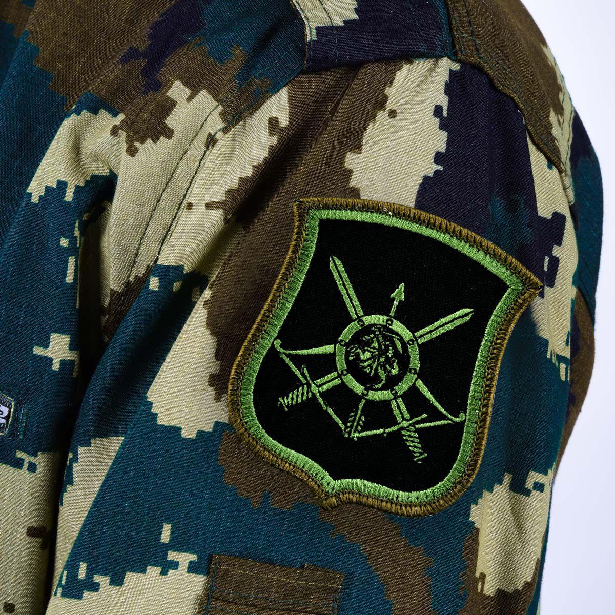 Шеврон РВСН на полевую форму военных 54-ой ракетной дивизии