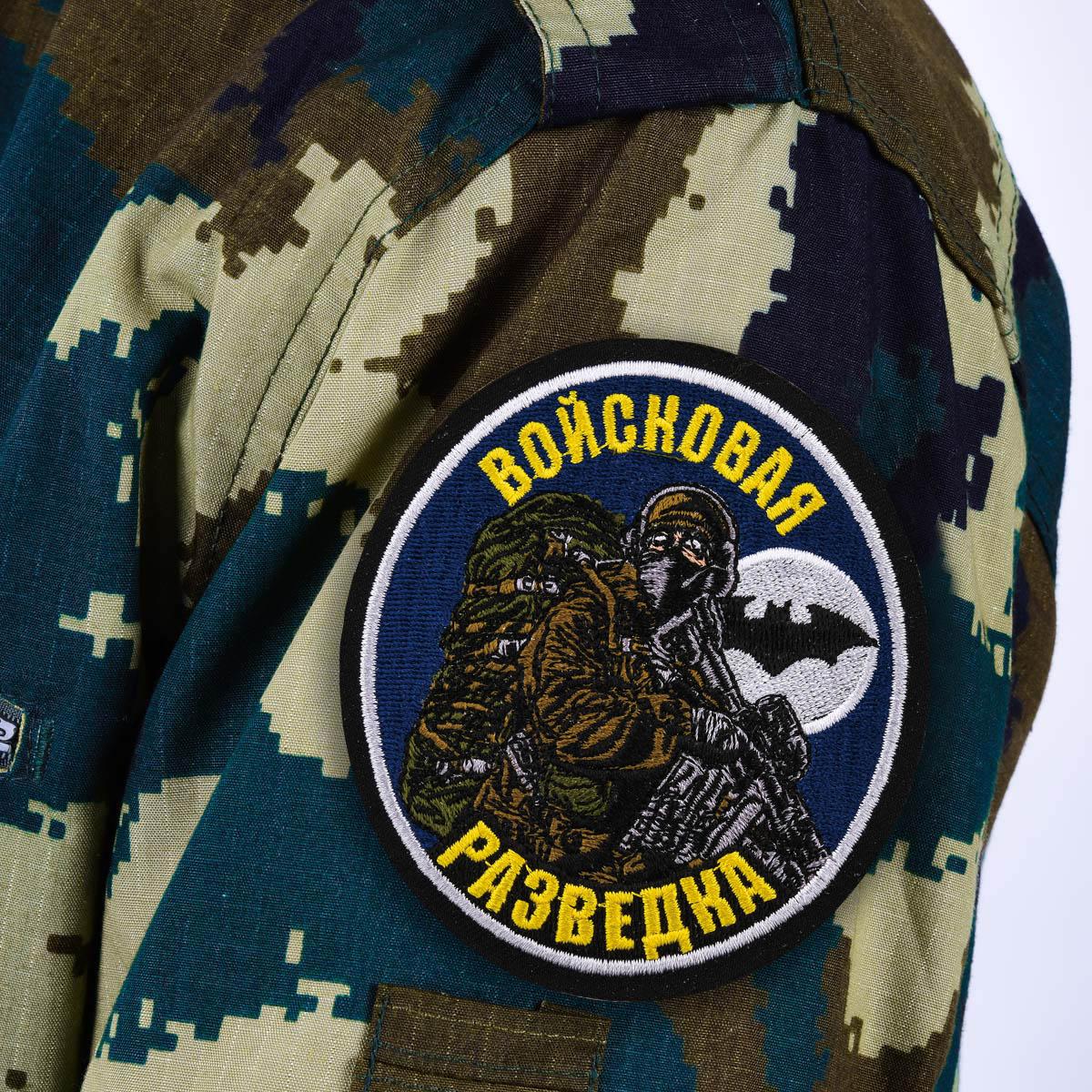Шеврон разведки - купить в Военпро