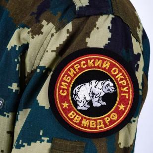 """Шеврон ВВ МВД """"Сибирский военный округ"""""""