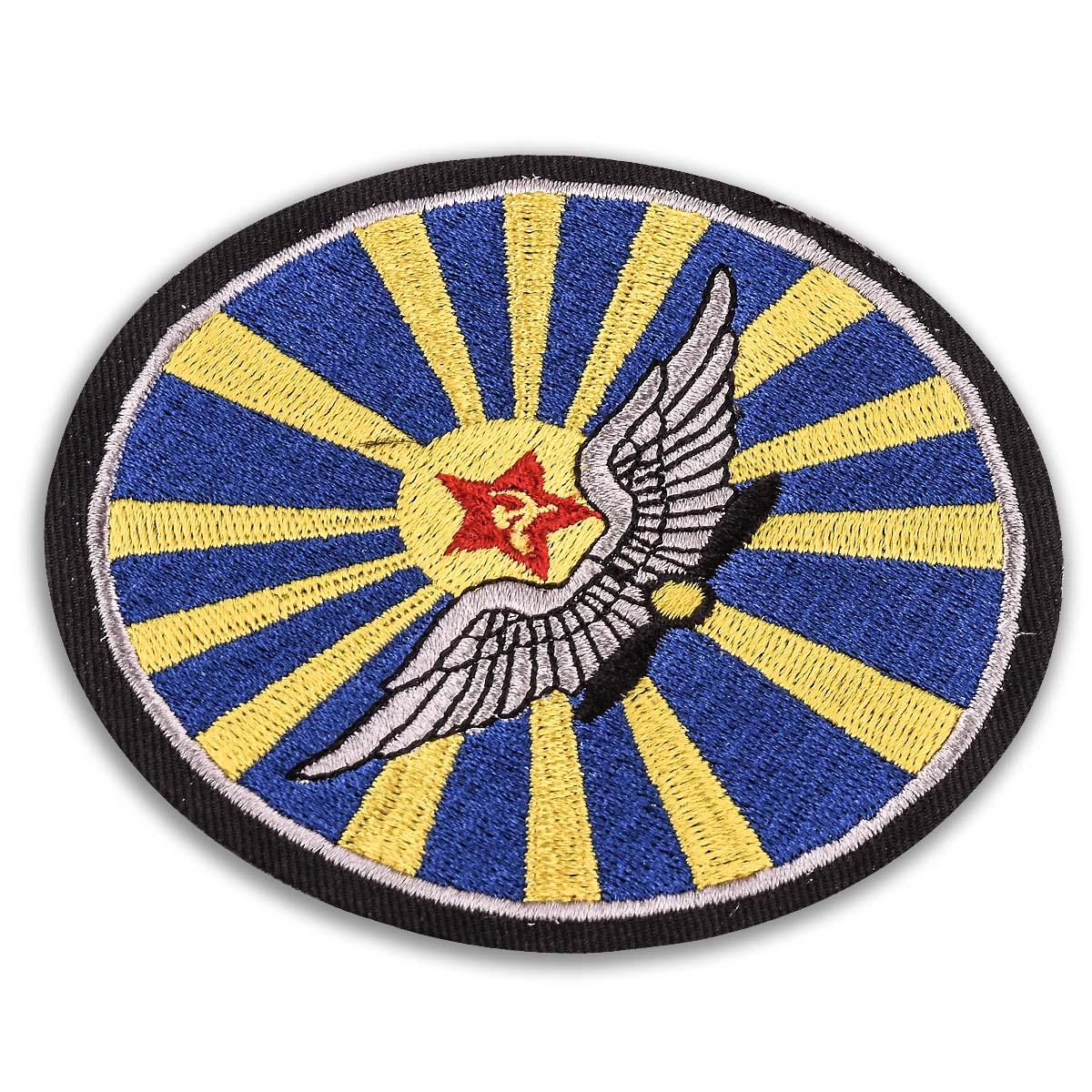 Шеврон ВВС СССР - вид под углом