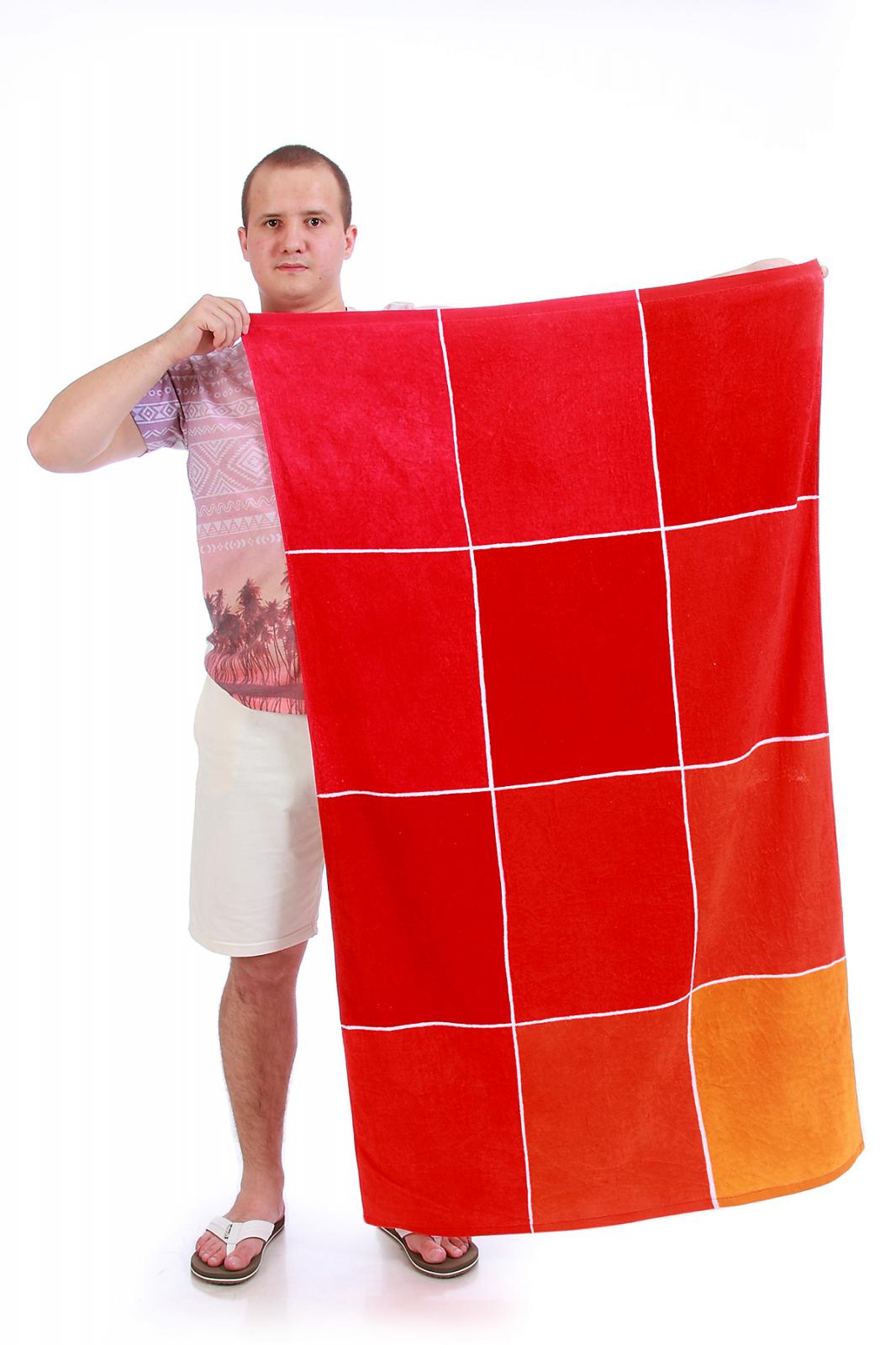 Широкое пляжное полотенце - купить онлайн в интернет-магазине