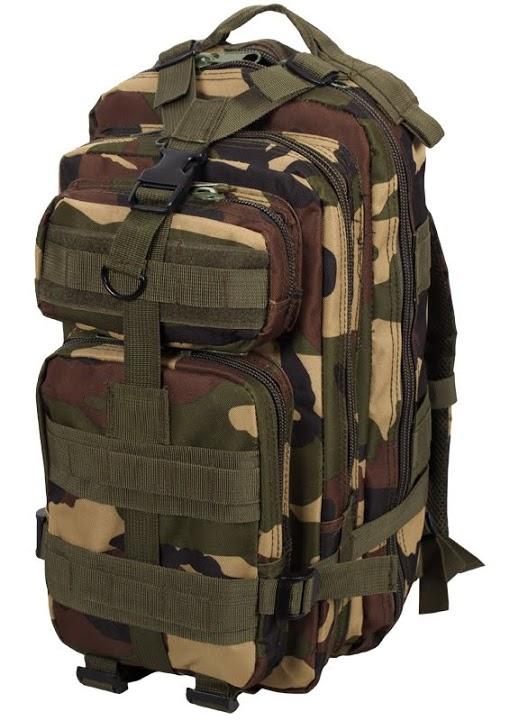 Штурмовой рюкзак США камуфляж Woodland