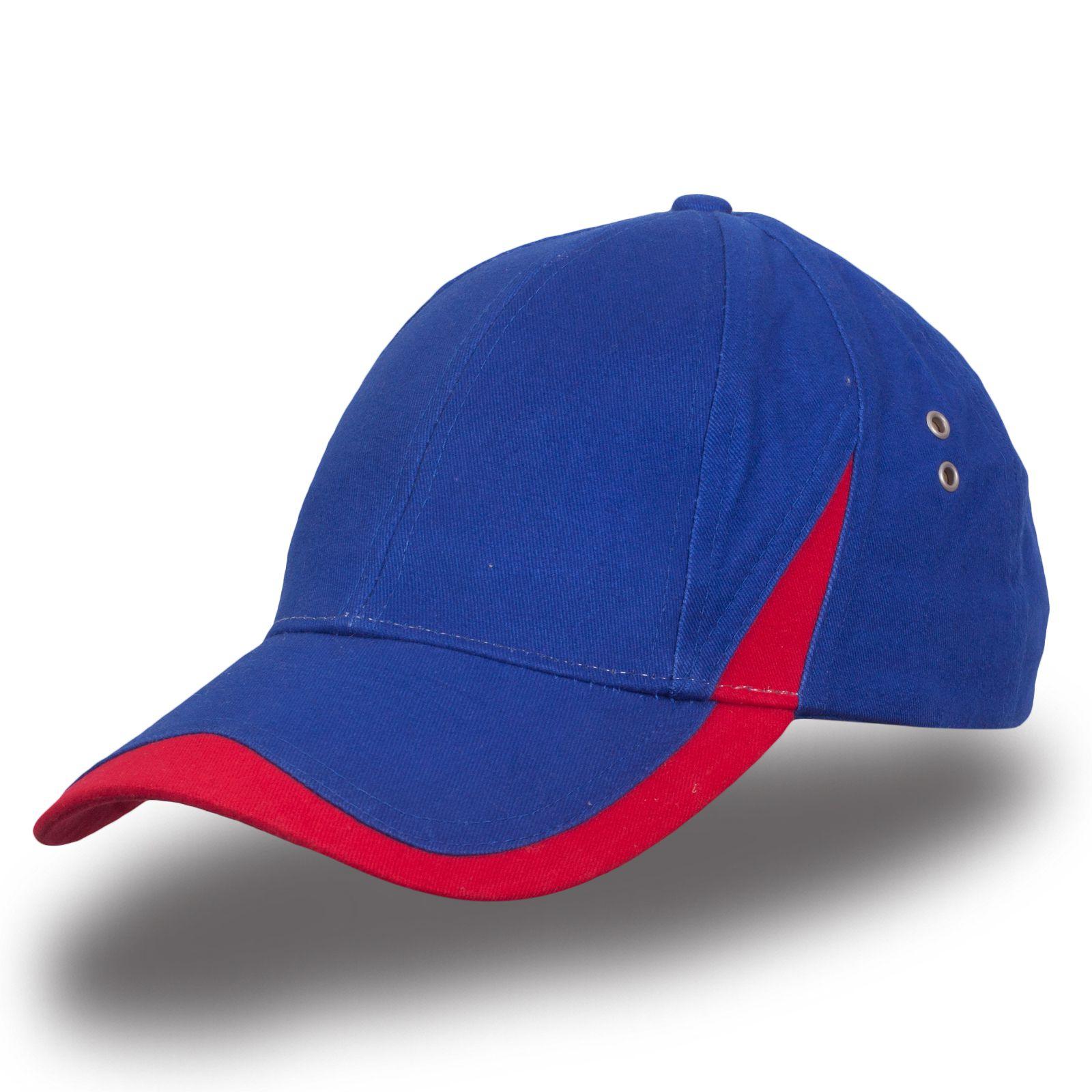 Синяя бейсболка - купить в интернет-магазине с доставкой