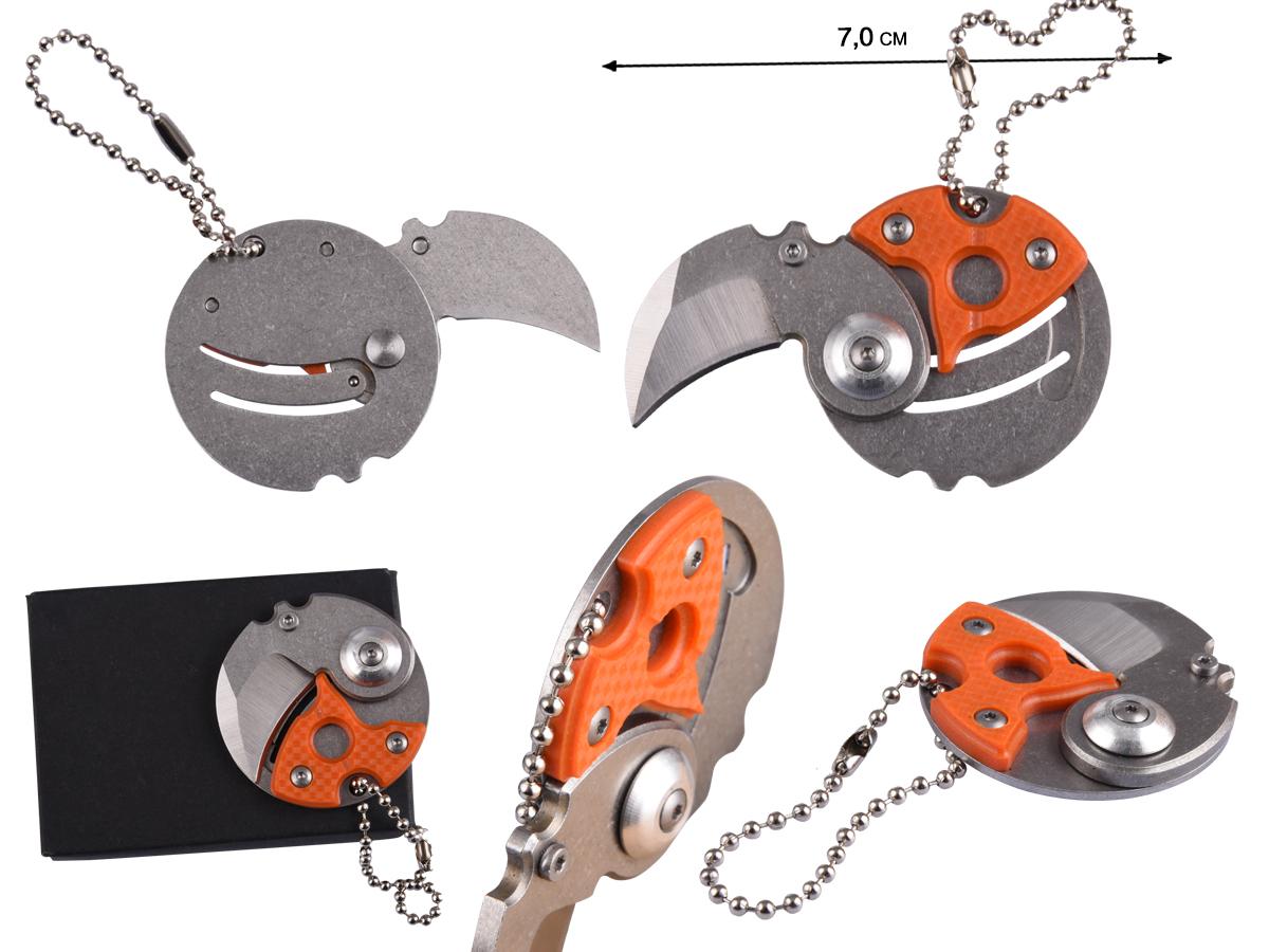 Складной нож EDC NKOK406 Orange - купить в интернет-магазине