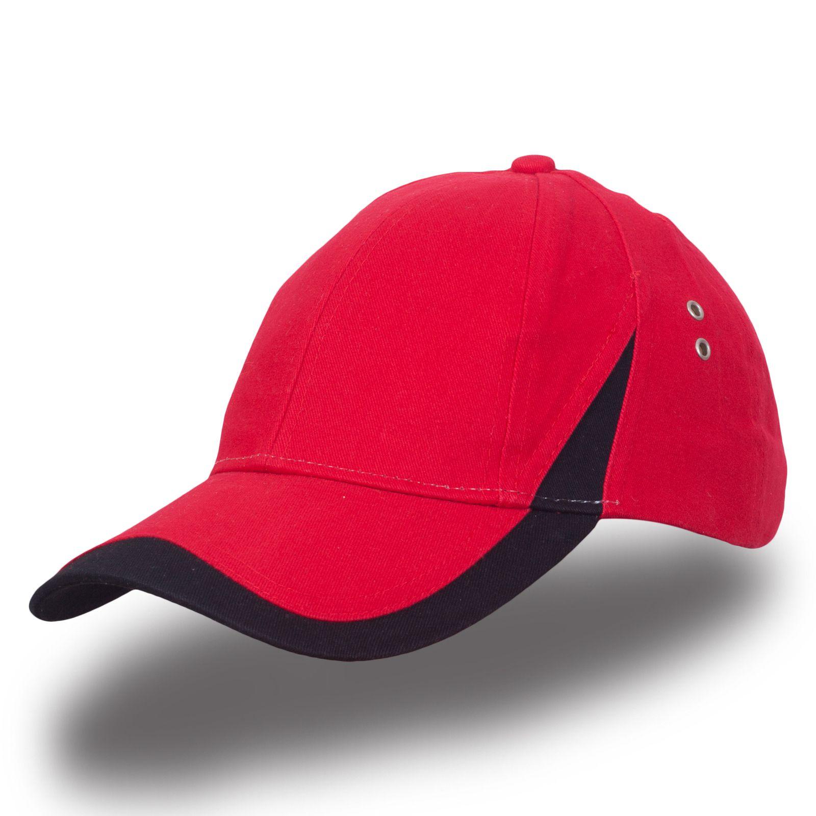 Спортивная красная бейсболка - купить в интернет-магазине с доставкой