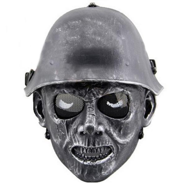 Ужасная маска зомби-фашиста