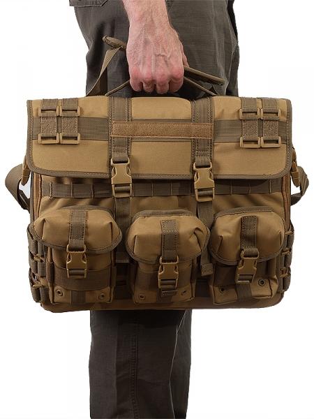 Купить тактическую сумку для ноутбука