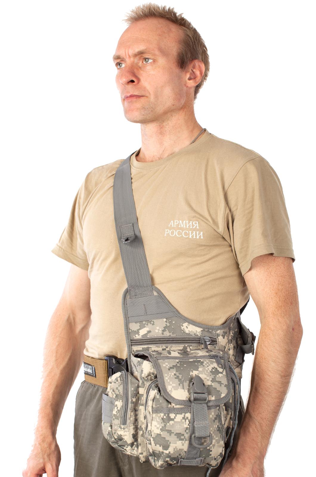 Стильная сумка на плечо