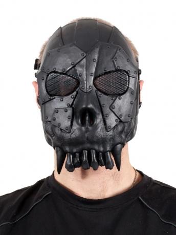 """Устрашающая маска """"Череп воина"""""""