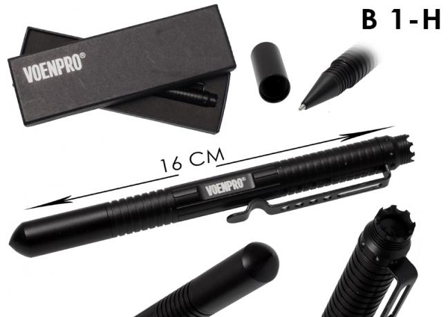 Тактическая ручка LAIX B1 черная-общий вид