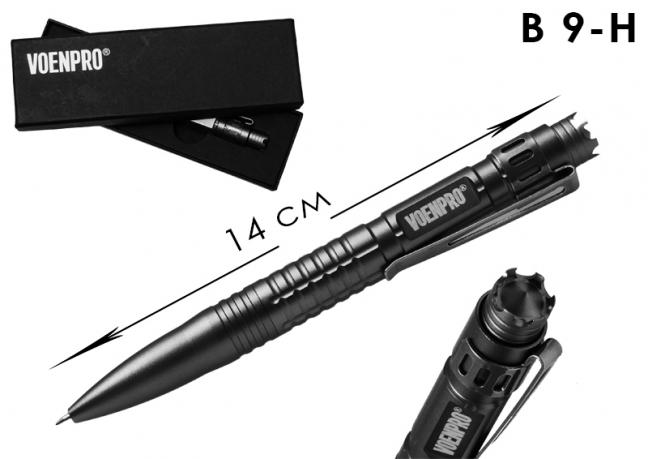 Тактическая ручка LAIX B9 черная-общий вид