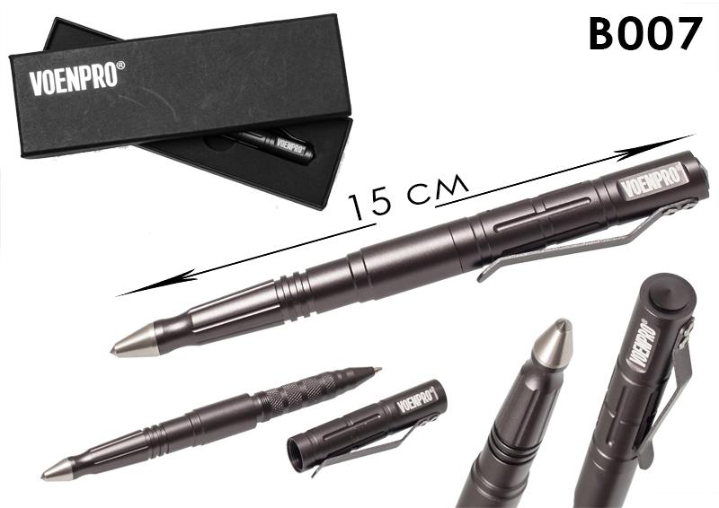 Тактическая ручка LAIX В007 серая-общий вид
