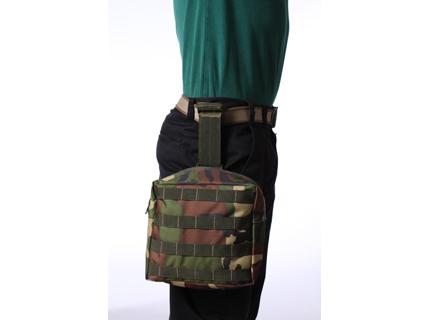 Тактическая сумка на бедро французский камуфляж