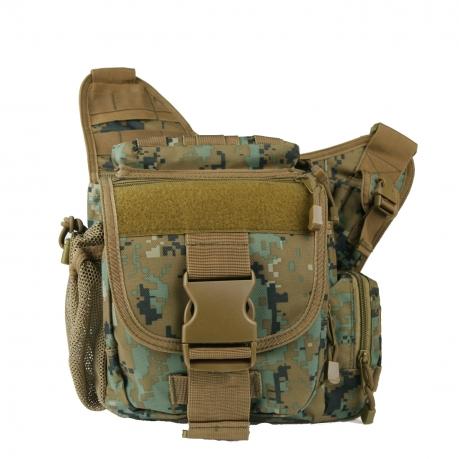 Тактическая сумка на плечо камуфляж Мarpat