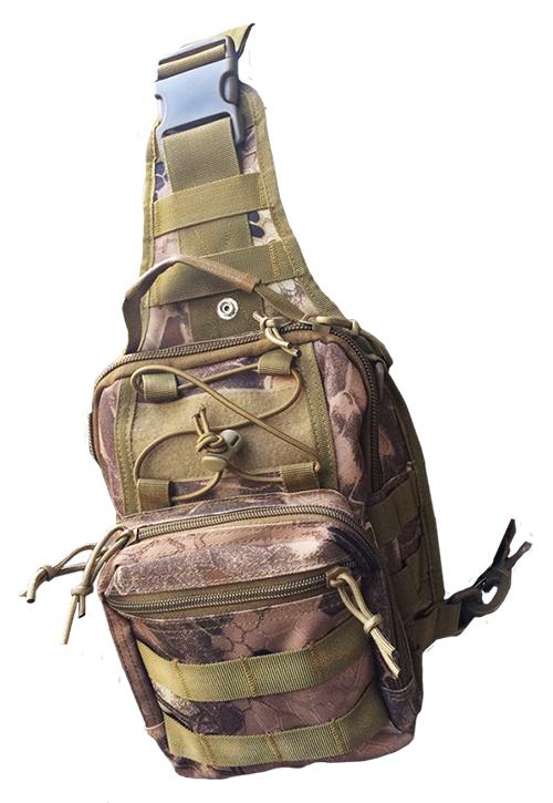Тактическая сумка-рюкзак камуфляж Kryptek Nomad
