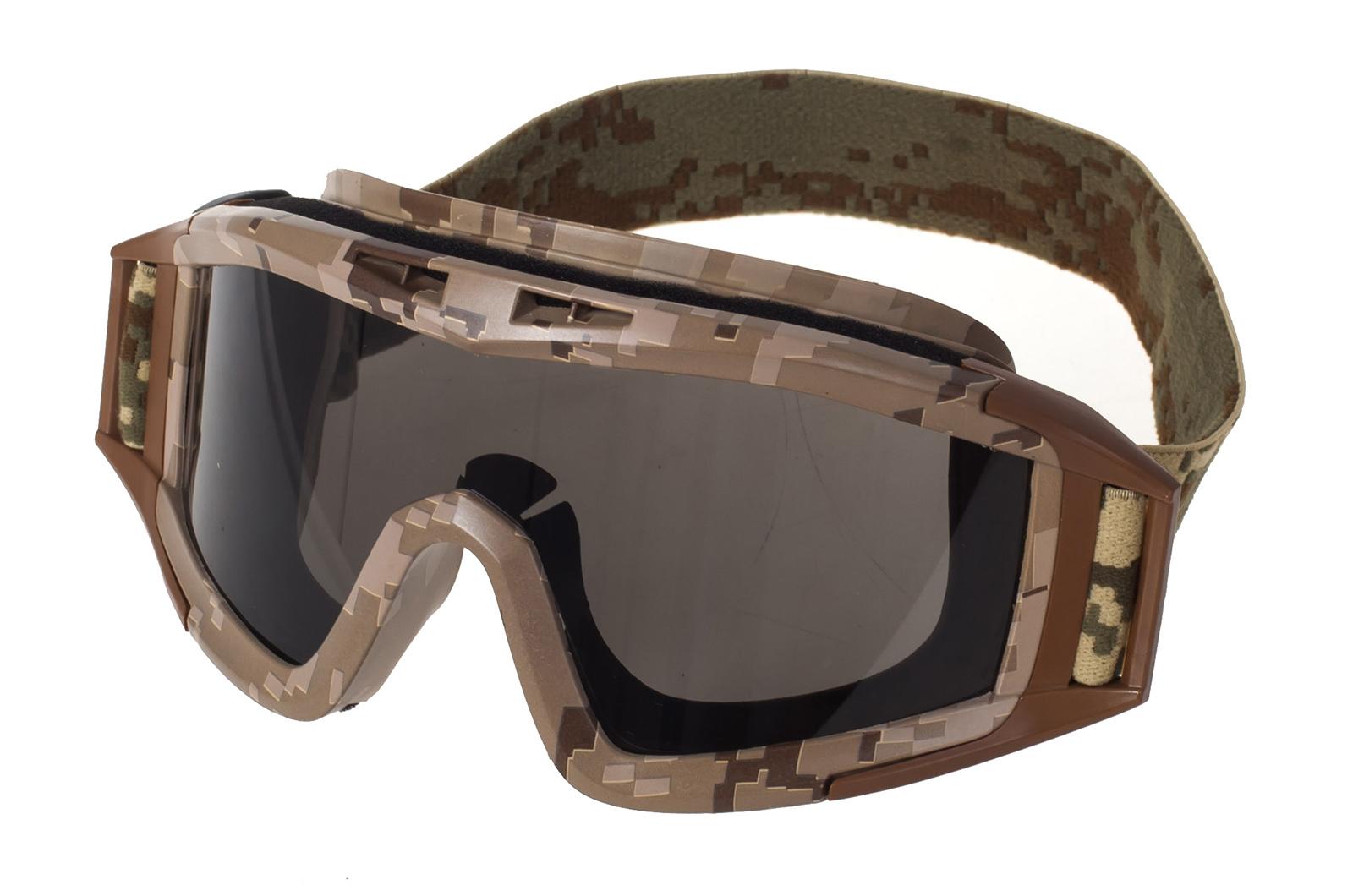 Тактические очки Гром камуфляж