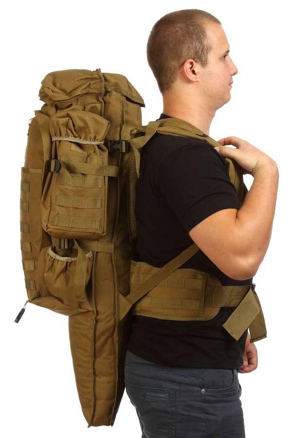 Тактический рюкзак 9.11 (хаки-песок)