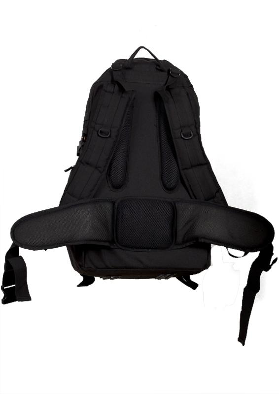 Тактический рюкзак TriZip MOLLE черный