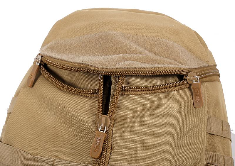 Тактический рюкзак TriZip MOLLE хаки-песок
