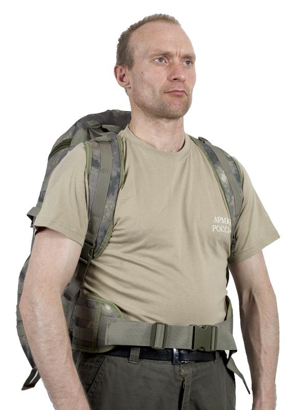 Тактический рюкзак TriZip MOLLE камуфляж A-TACS