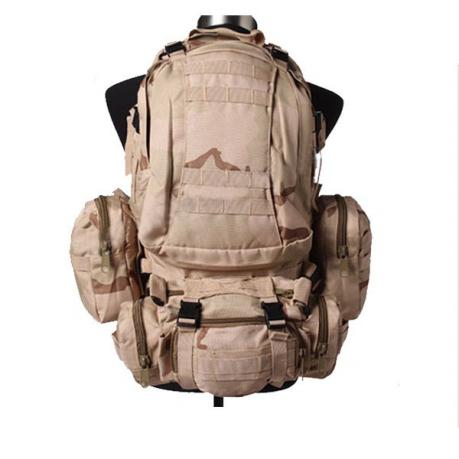 Тактический рюкзак US Assault камуфляж Пустыня