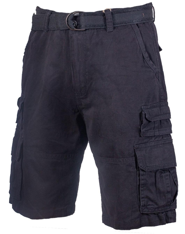 Тёмно-серые шорты