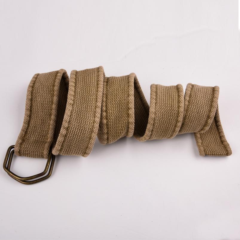 Тканевый ремень хаки-песок с доставкой