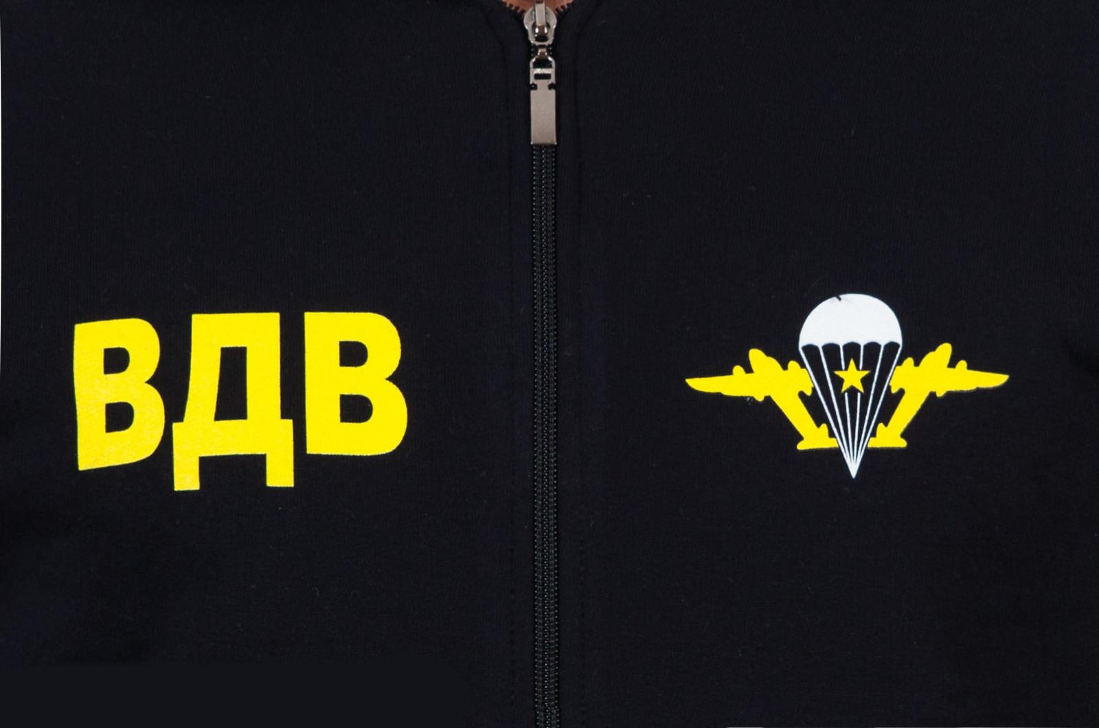 Толстовка «ДШБ ВДВ» чёрная