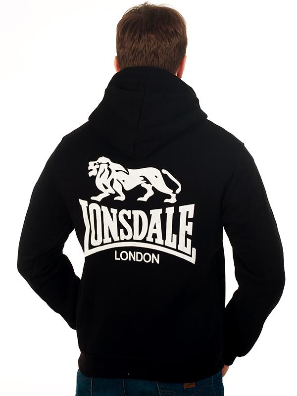 Толстовка «Lonsdale London» чёрная