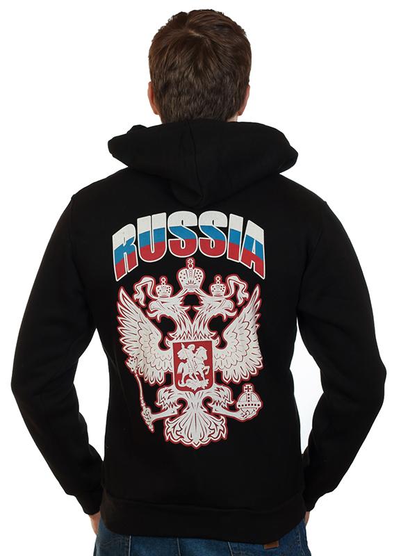 Толстовки и футболки с российской символикой