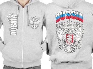 """Толстовка """"Российская"""" с гербом"""