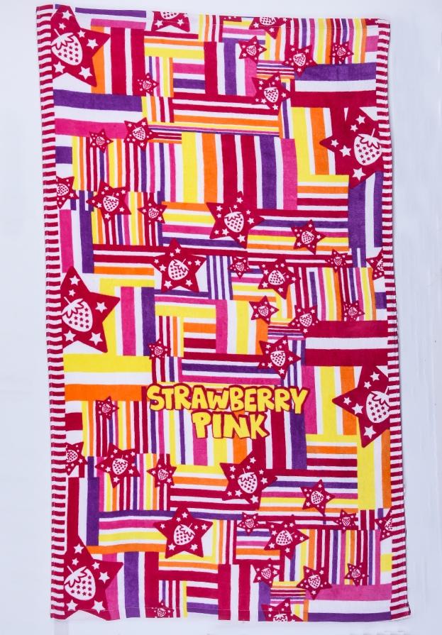 Выгодно купите цветное полотенце для летнего отдыха