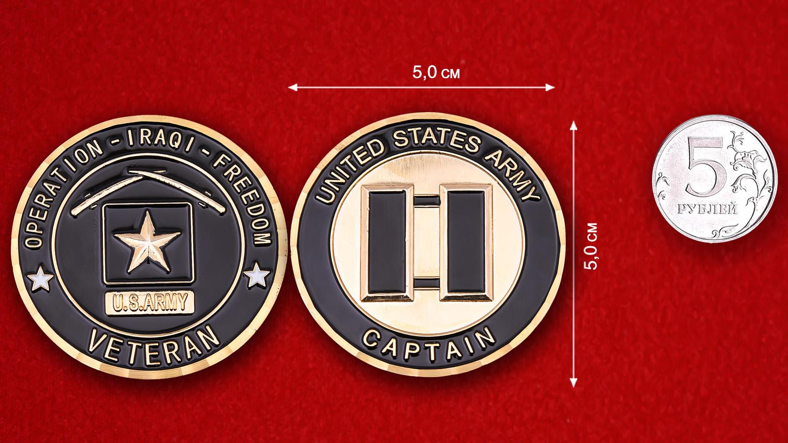 US Army Operation Iraqi Freedom Captain