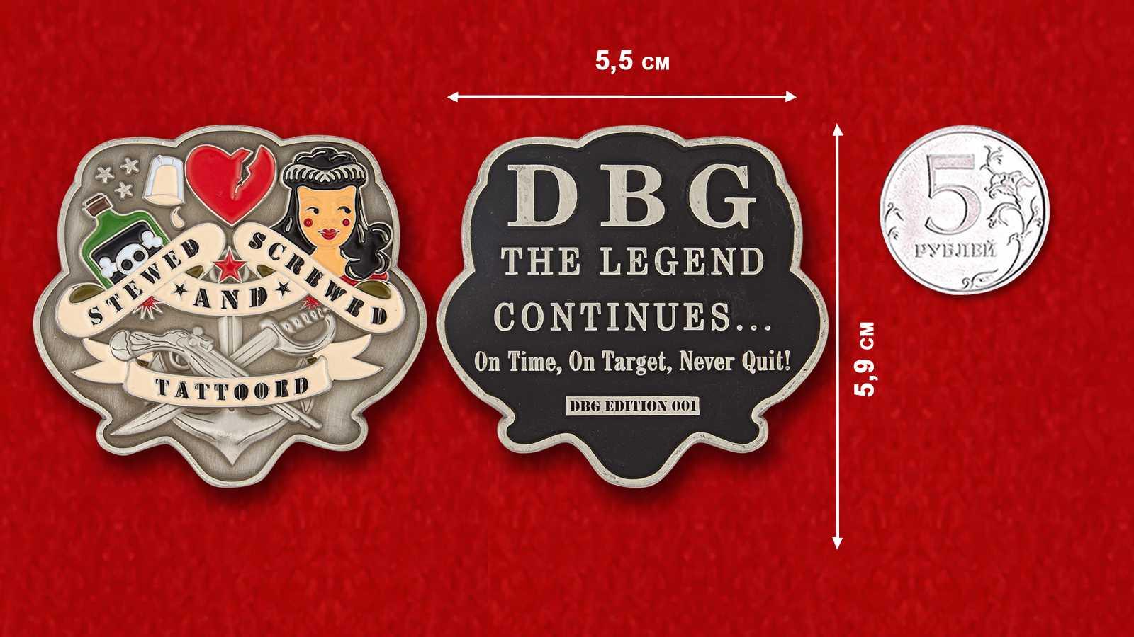 US Navy Special Warfare Combatant-Сraft Crewman DBG Edition-001 Challenge Coin