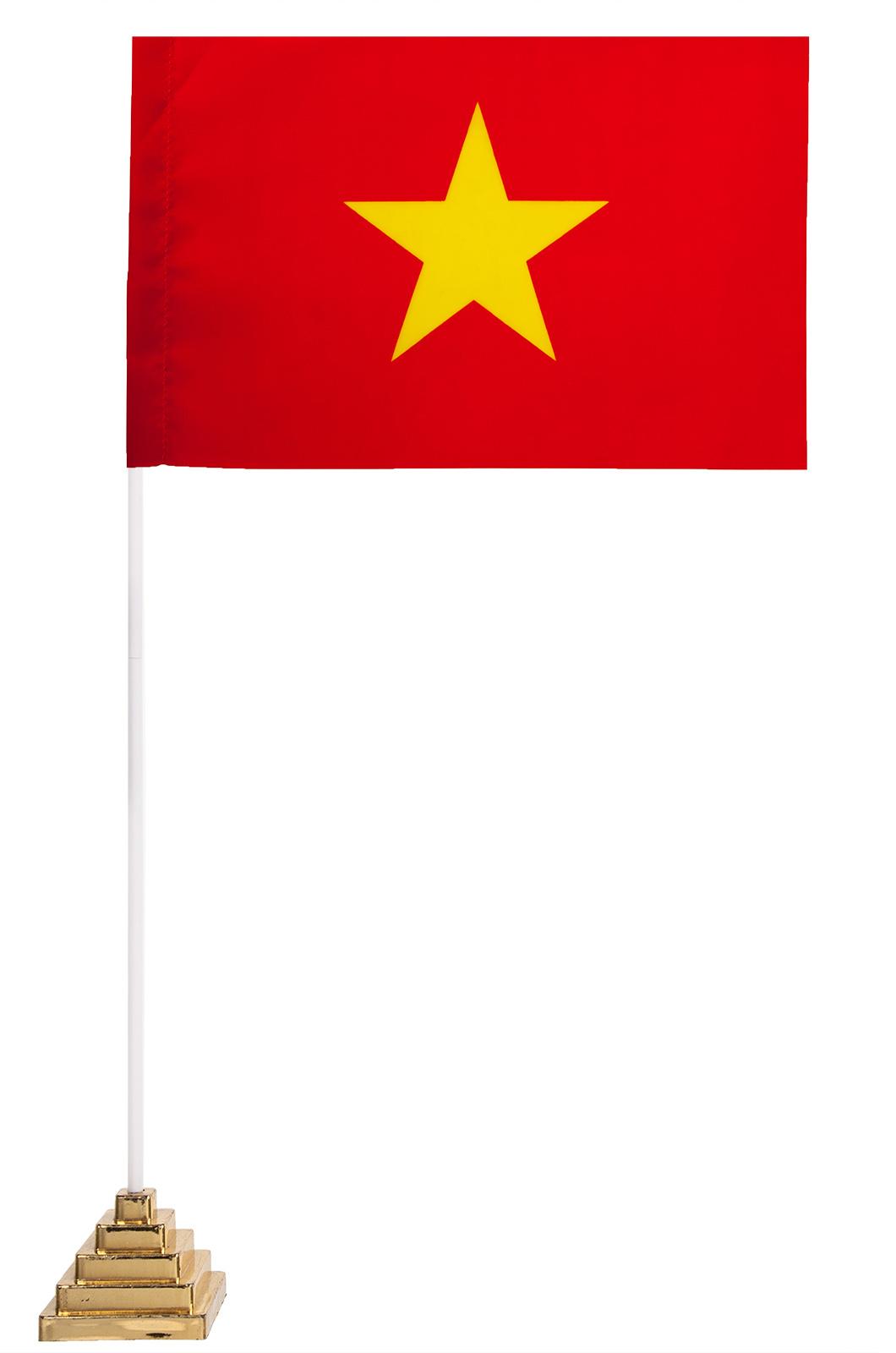 Вьетнамский флаг настольный
