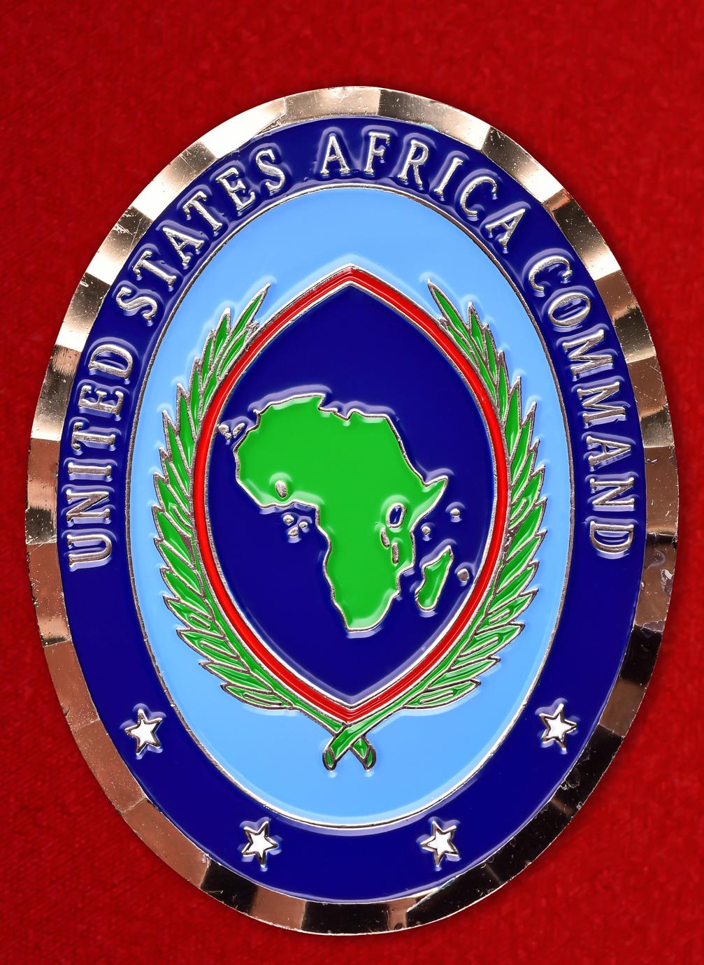 """Военный знак США """"Африканское командование ВС"""""""