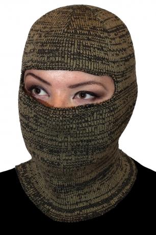 Вязаная маска балаклава