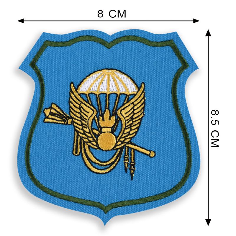 Вышитая нашивка Командования ВДВ оригинальный сувенир десантнику