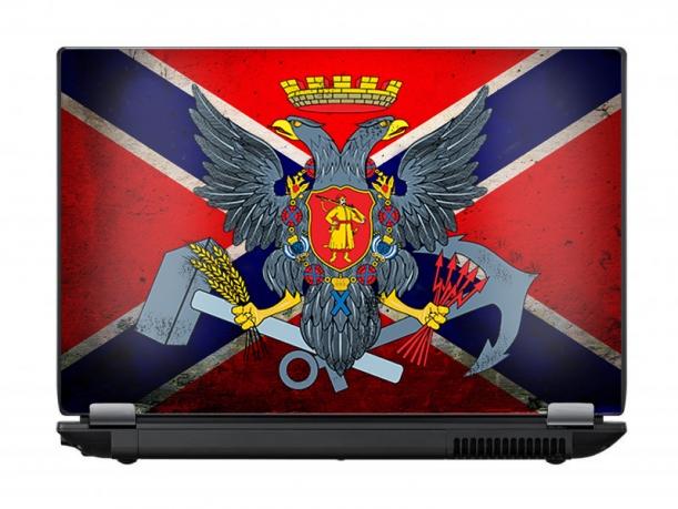 """Защитная пленка для ноутбука """"Новороссия"""""""